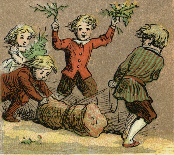 История новогодней елки в России