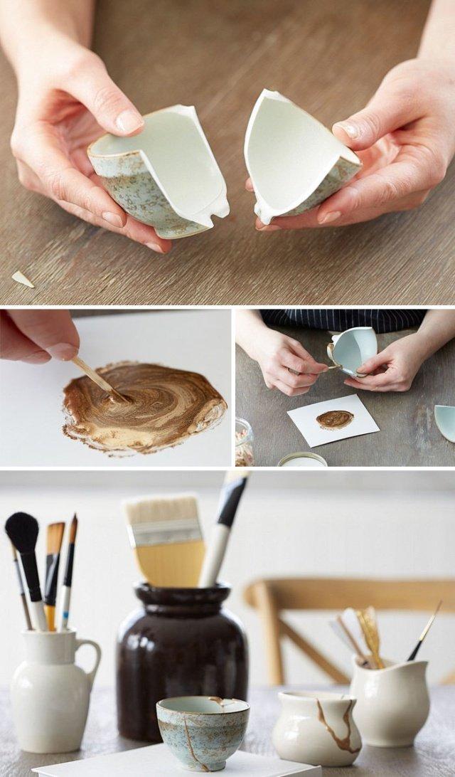 Креативный ремонт различных вещей своими руками