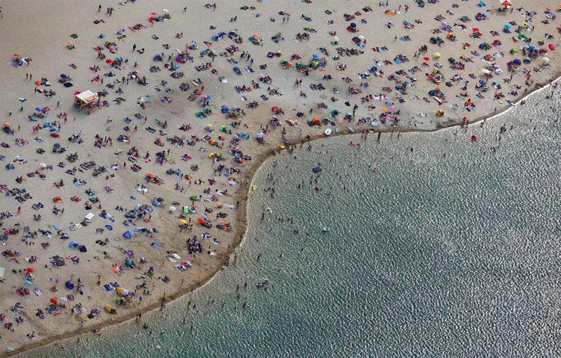 Лучшие аэрофотоснимки от агентства Reuters 2018