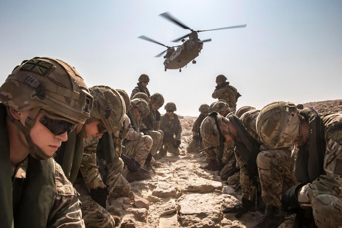 Вооруженные Силы Великобритании на снимках в 2018 году