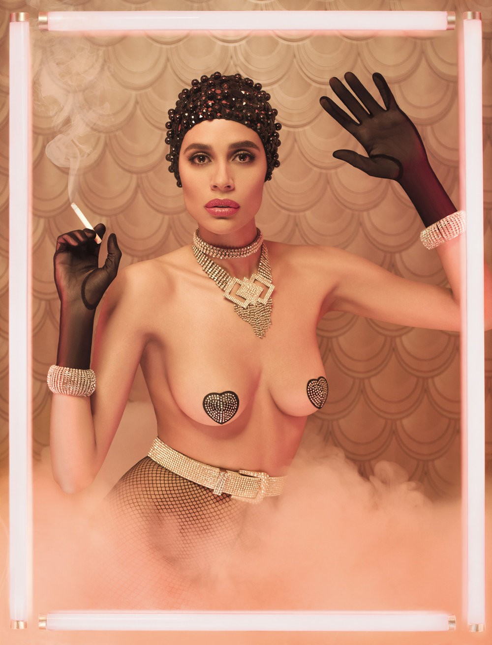 Эксцентричные модные портреты от Пола Куруча