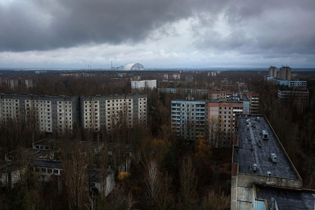 Заброшенные останки Чернобыля и Припяти на снимках Кристиана Липована