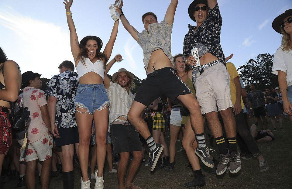 Музыкальный Falls Festival в Австралии