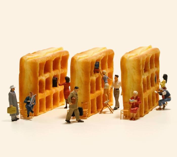 Очаровательные миниатюры от японского мастера