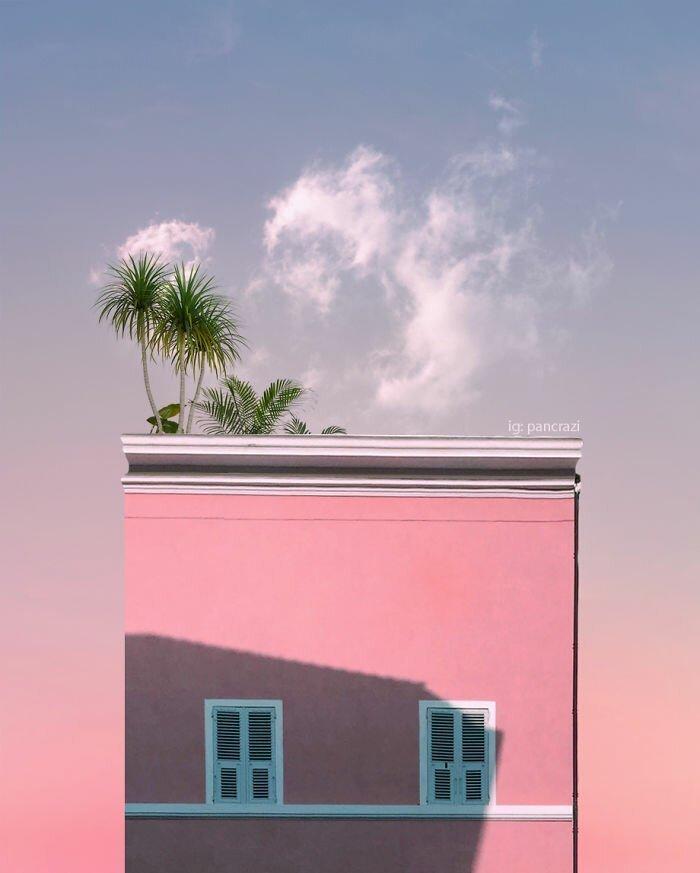 Бесконечность лета в минималистских снимках Андреа Панкрацци