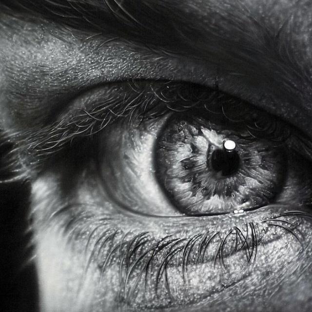 Гиперреалистичные картины от Камалки Лауреано