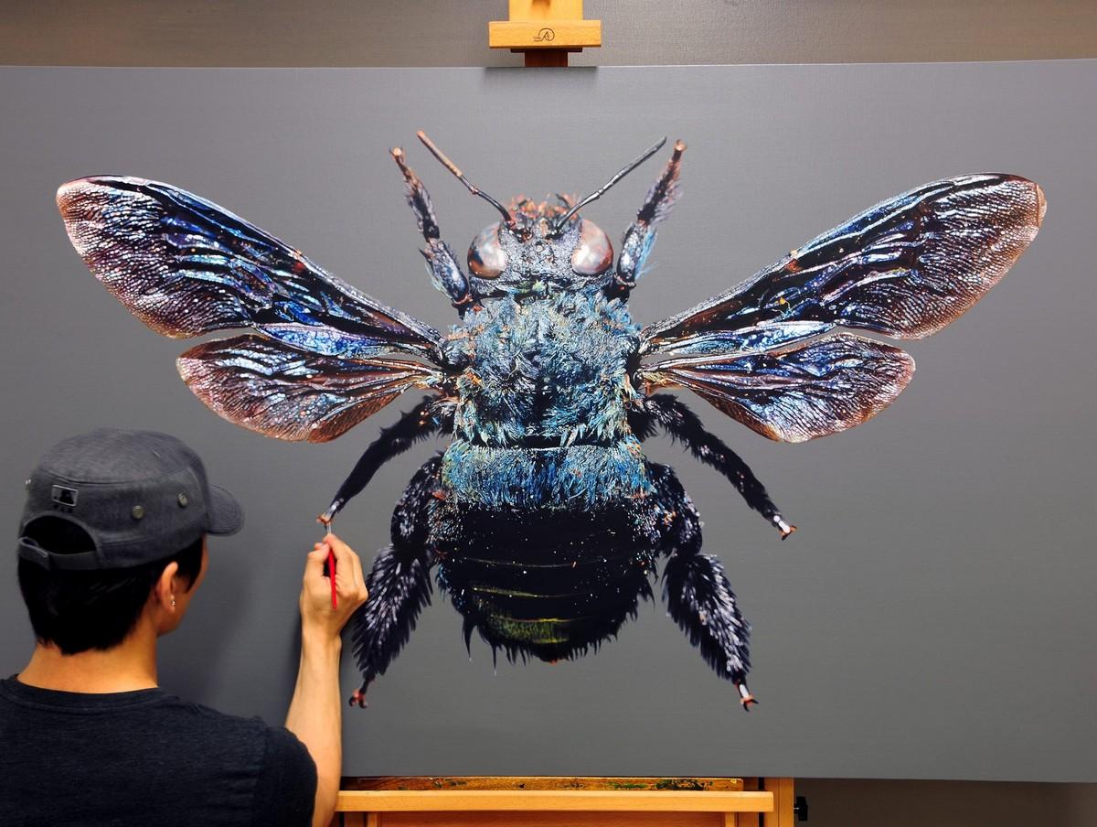 Невероятно реалистичные картины животных от Ёнсуна Ким