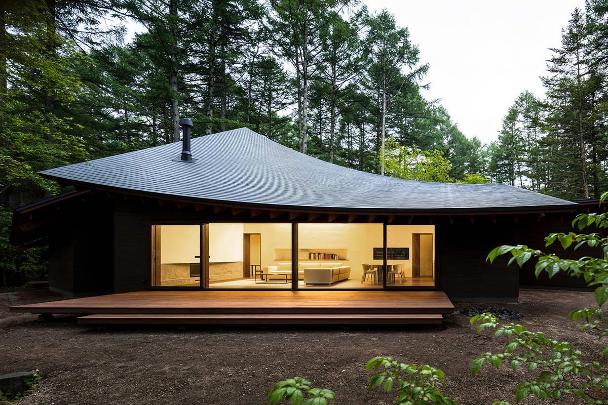 Органический загородный дом в Японии