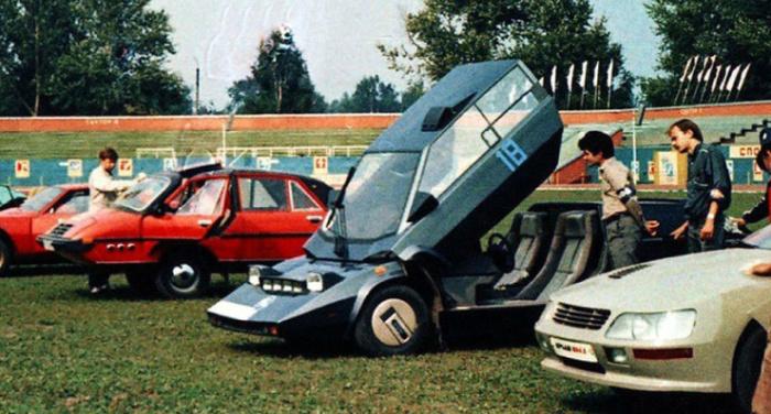 Самодельные автомобили советских энтузиастов