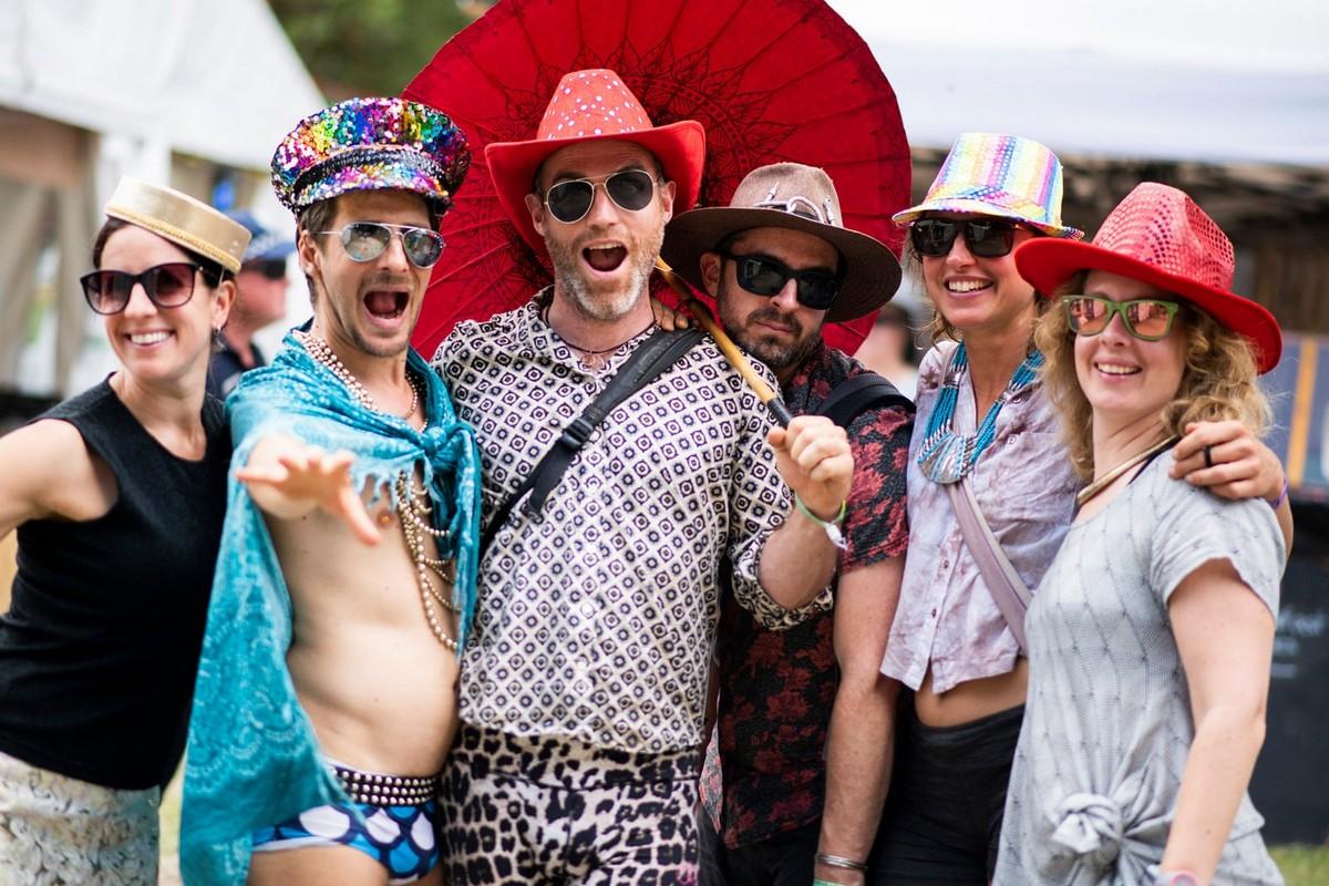 Яркий Woodford folk festival 2018-19 в Австралии