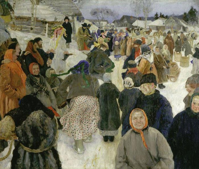 Чем русские крестьяне занимались в деревнях зимой