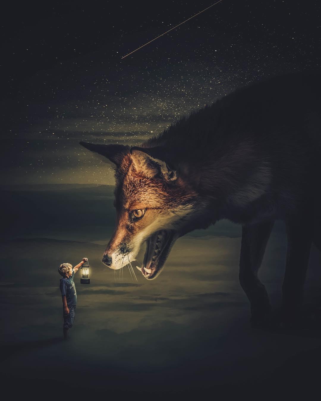 Сюрреалистические фотоманипуляции от Жени Гаммера