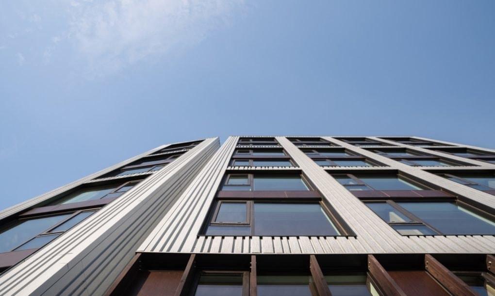 В США построили 8-этажку из дерева