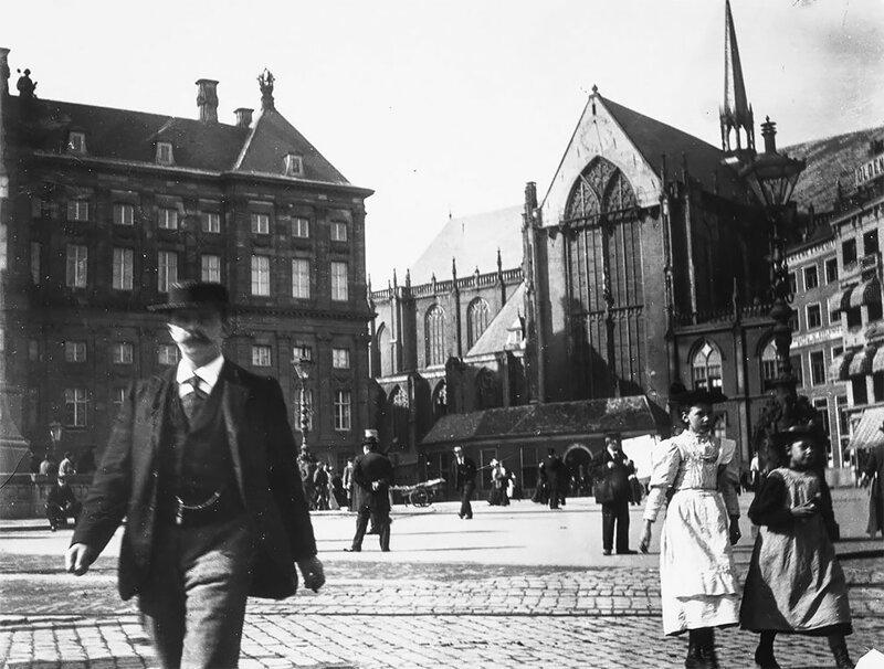 Улицы Амстердама 1890-х годов в объективе Георга Хендрика Брейтнера