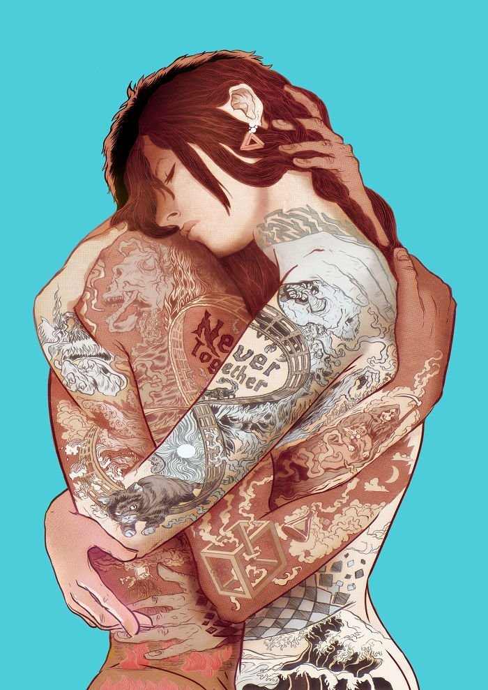 25 мрачных иллюстраций о современном мире от испанского художника