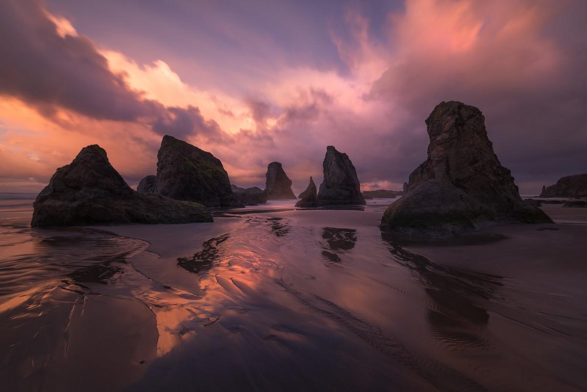 Красивые природные пейзажи от Перри Шелат