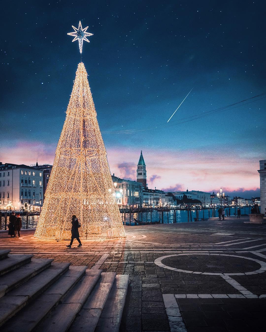 Городские пейзажи Венеции на снимках Марко Гаджио