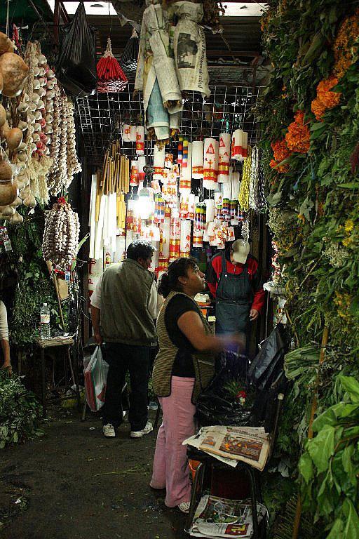 Колдовской рынок Сонора в Мексике