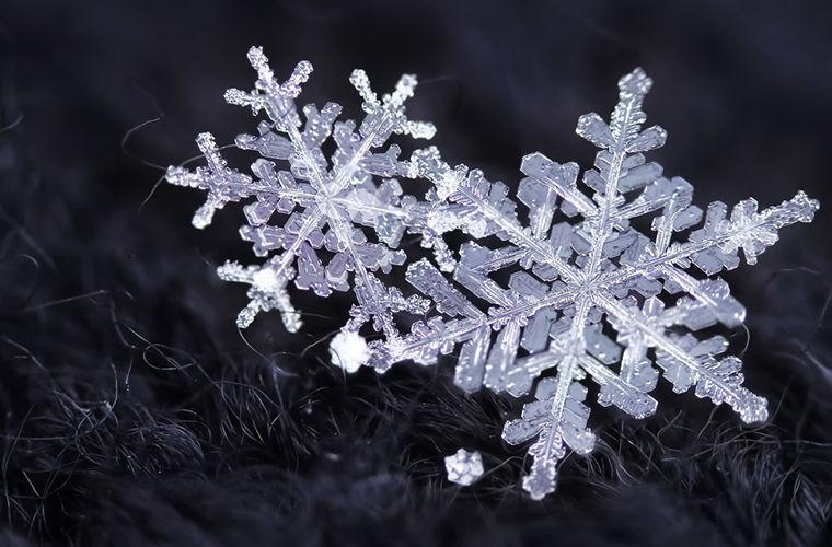 Почему каждая снежинка уникальна?