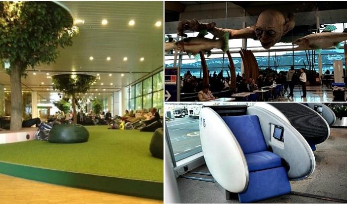 Приятные фишки аэропортов, которые сделают ожидание комфортным