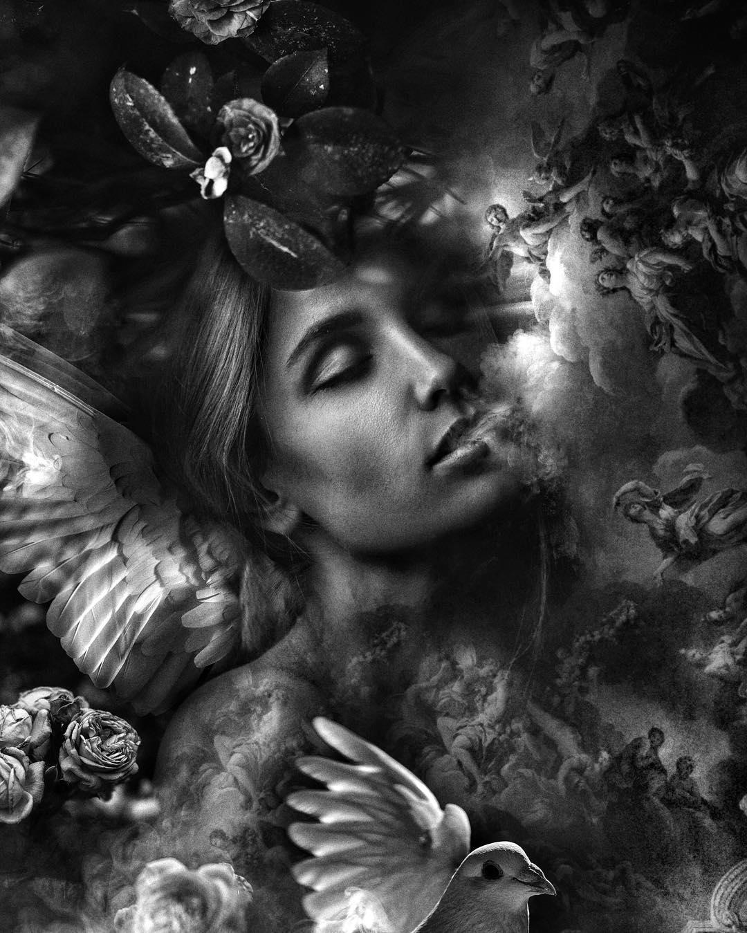Сюрреалистические фотоманипуляции от Марселя ван Луита