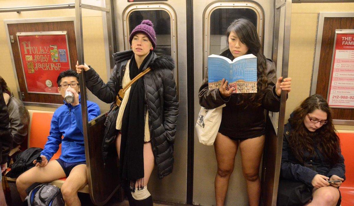 В метро без штанов - 2019
