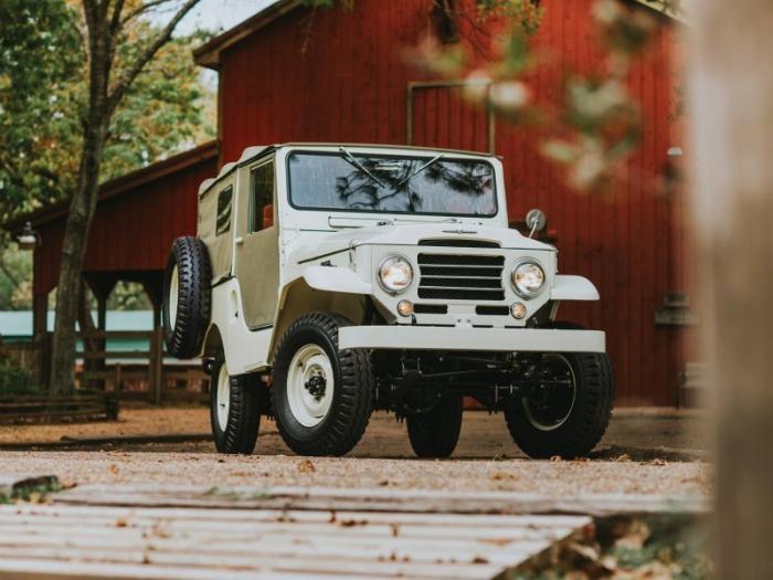 Toyota Land Cruiser FJ25 1955-1960 годов