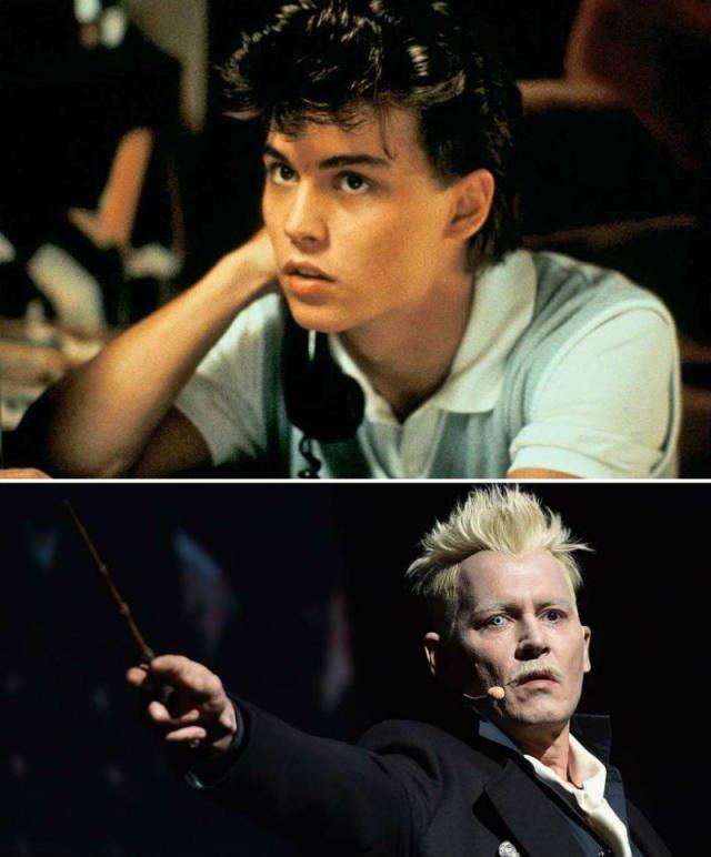 Первые и последние роли известных голливудских актёров