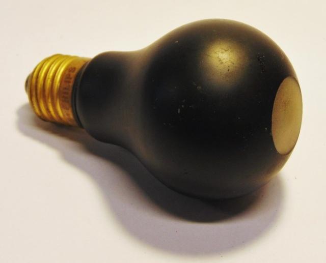 Черные лампы времен Второй мировой войны