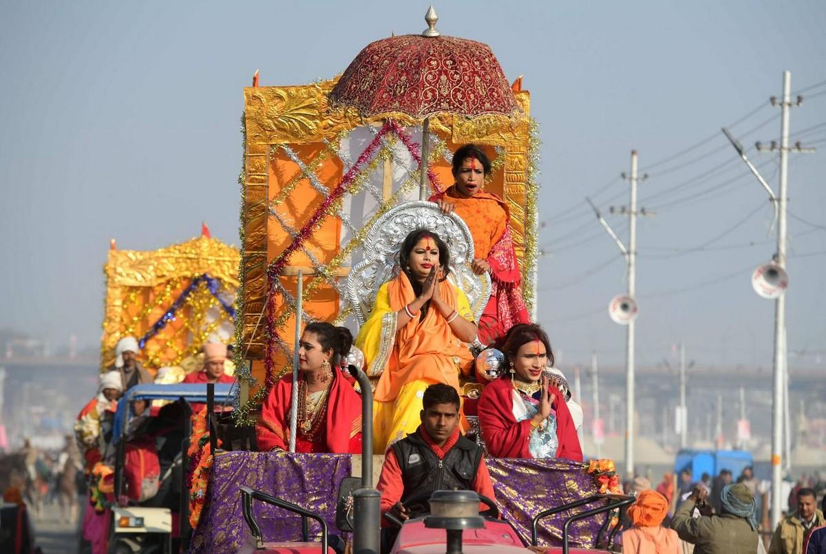 Фестиваль Кумбха Мела 2019 в Индии