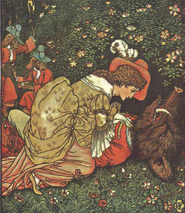 История героев сказки Красавица и чудовище