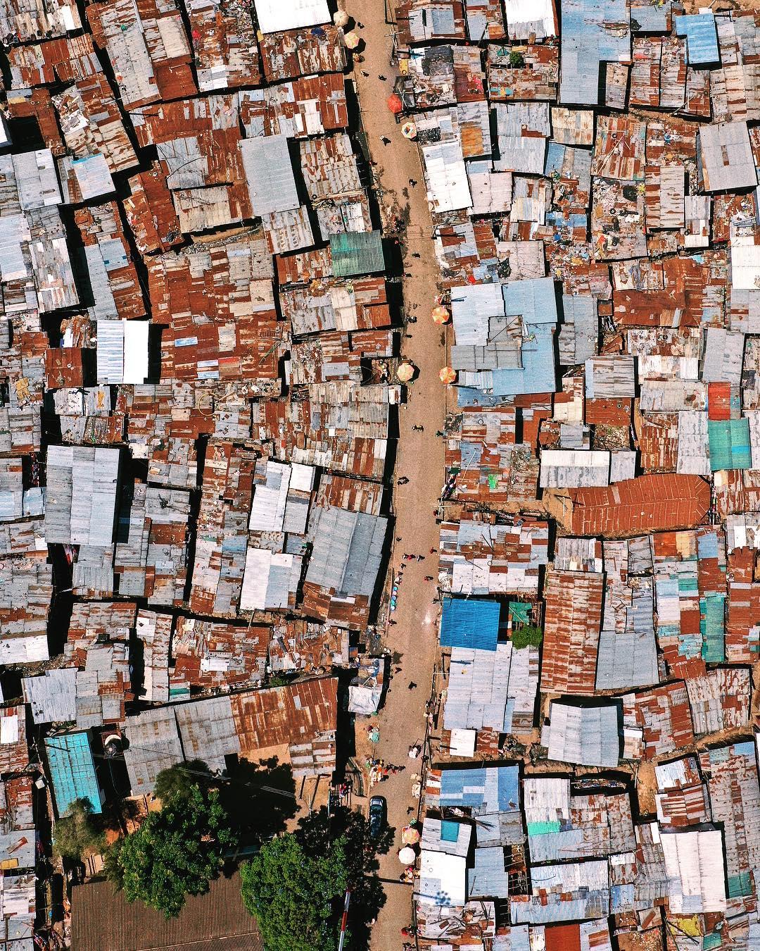 Кения с высоты на аэрофотоснимках Сэма Мучаи