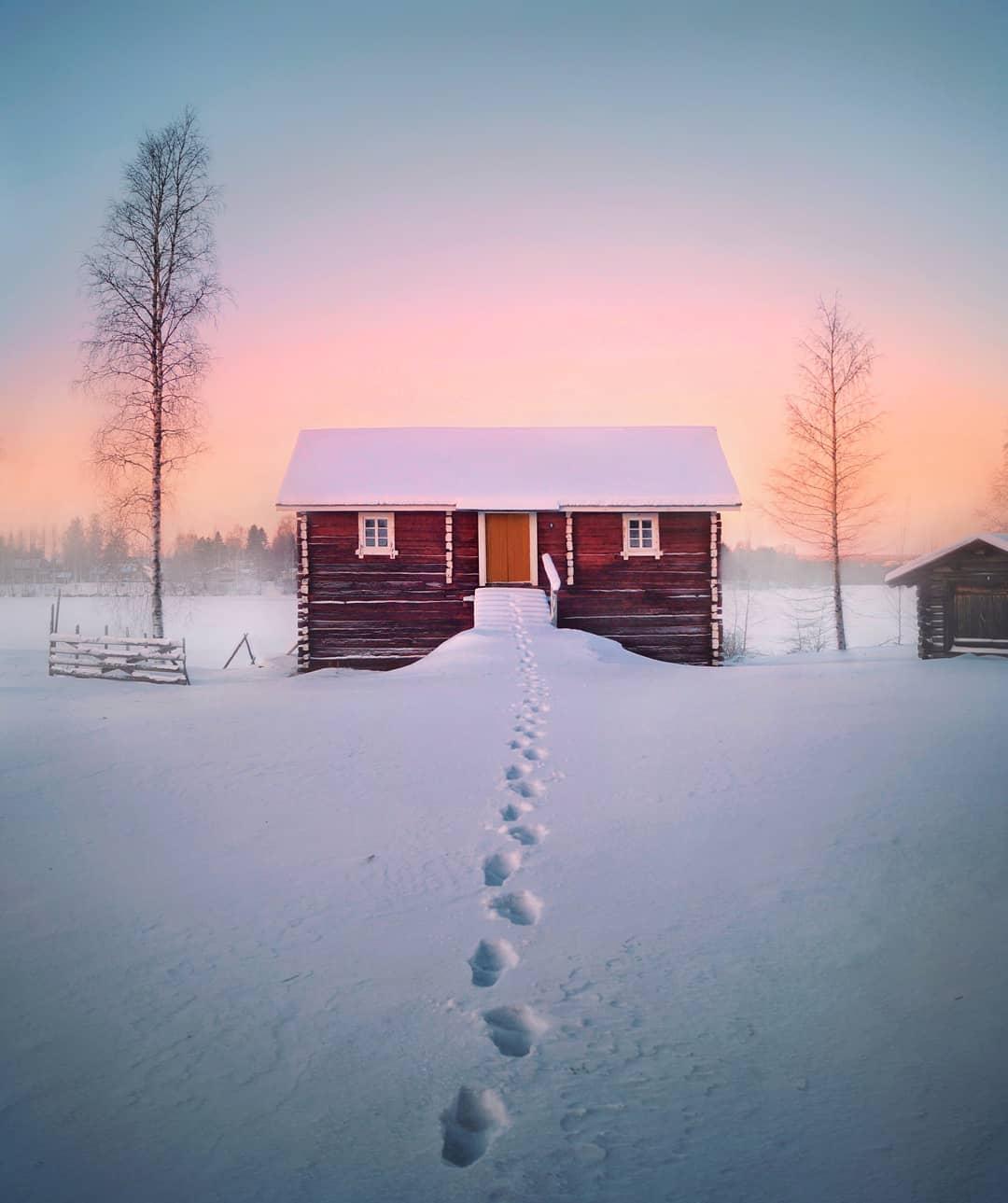 Пейзажи Финляндии на снимках Эсси Траутвейн