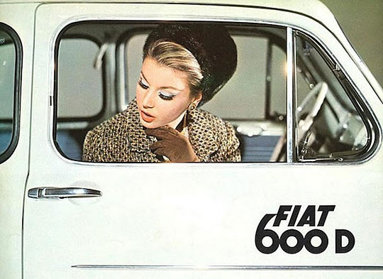 Ретро-реклама автомобилей