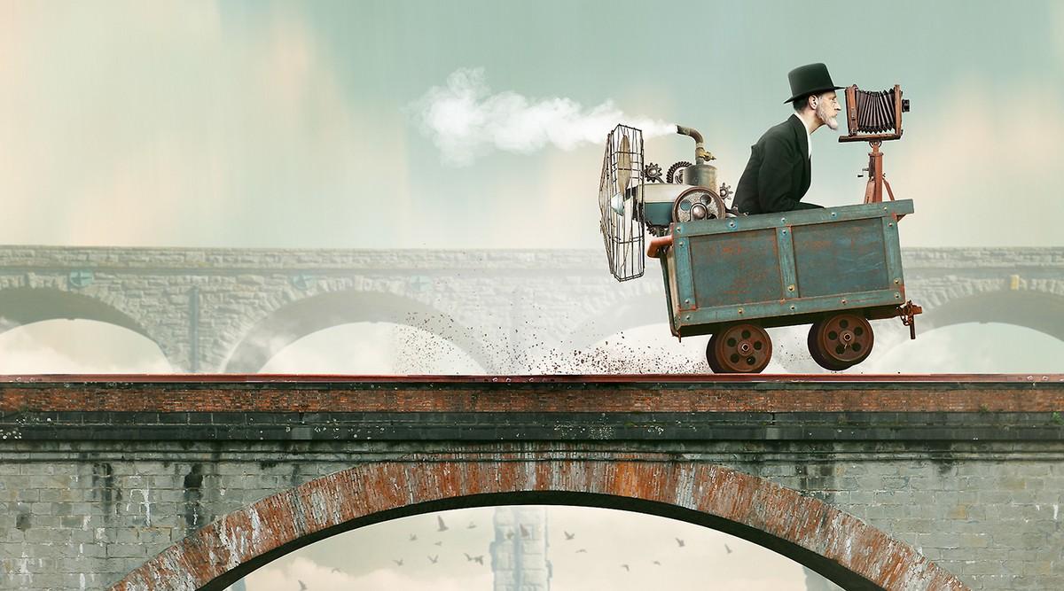Удивительные фотоманипуляции от Жана-Шарля Дебройза