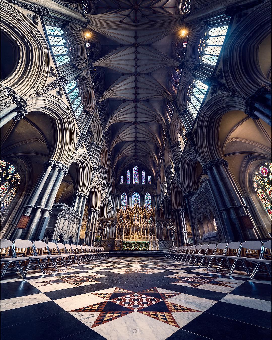Архитектурные панорамы от Питера Ли