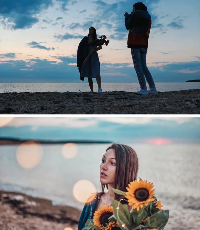 За кадром профессиональных фотографий