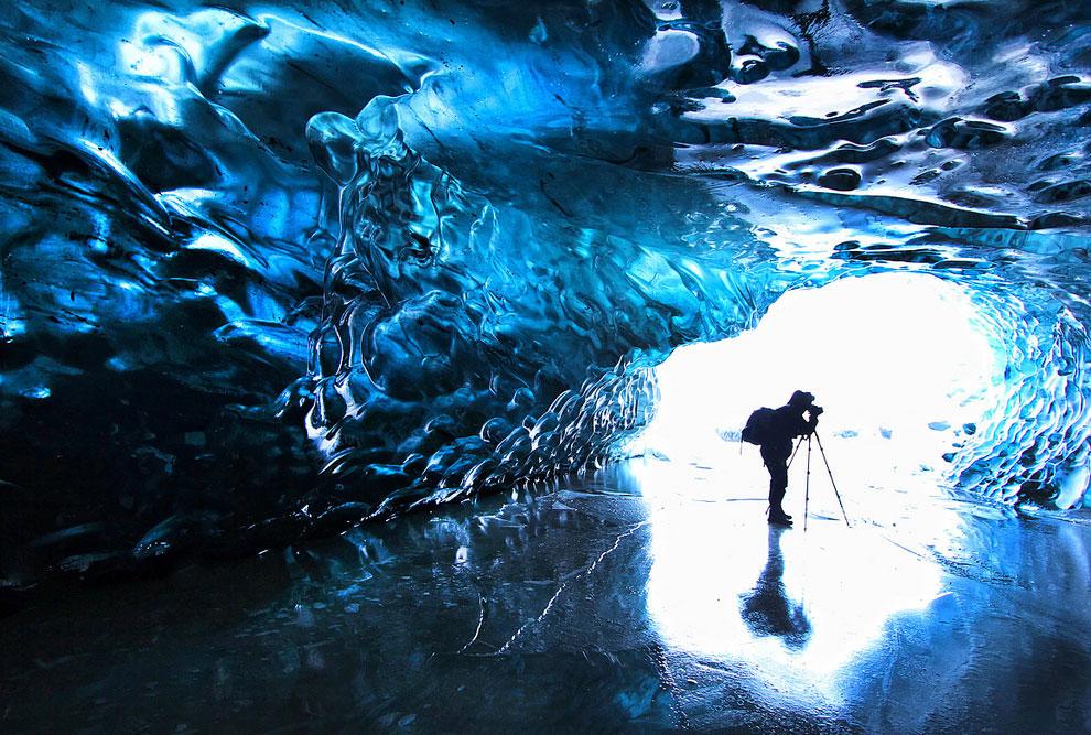 Крупнейший ледник Европы в Исландии