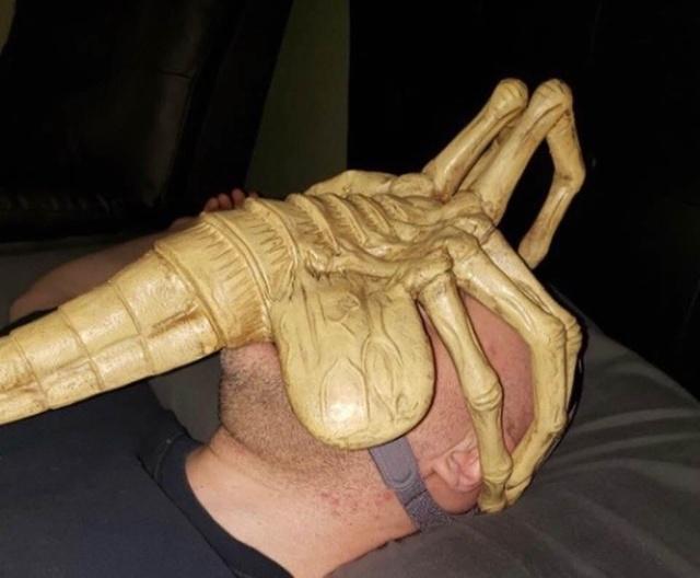 Креативная маска для борьбы с остановкой дыхания во сне
