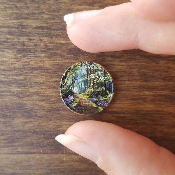 Полноценные картины на монетках