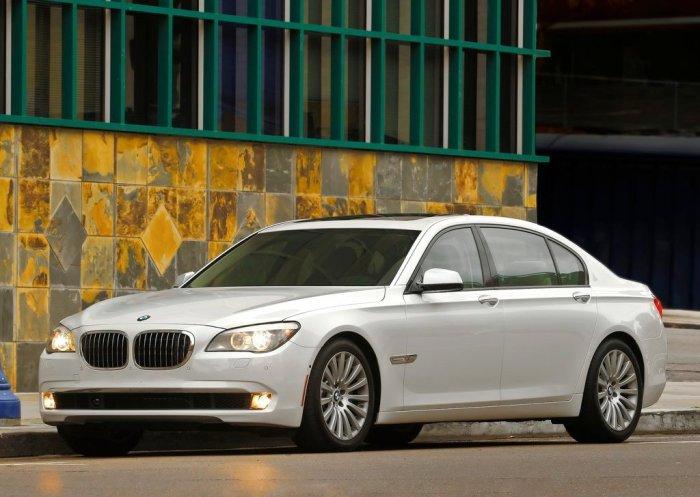 Развитие BMW легендарной седьмой серии