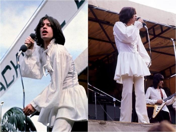 Знаменитые мужчины, которые показывались на публике в платьях