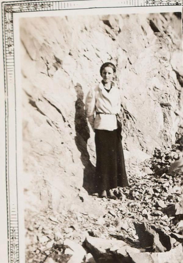 Старый фотоальбом Бонни и Клайда