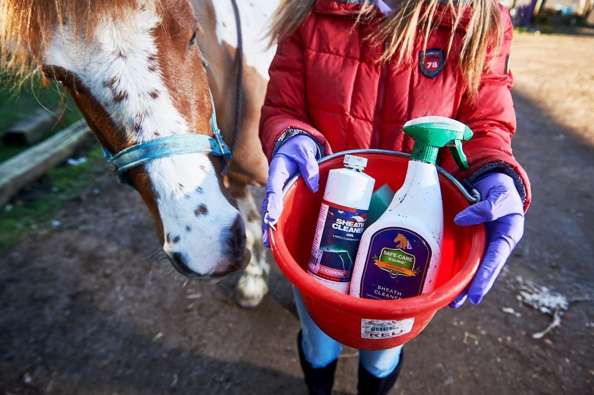 Есть такая работа – чистить гениталии лошадей