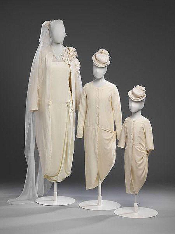 История свадебных платьев за последние двести лет