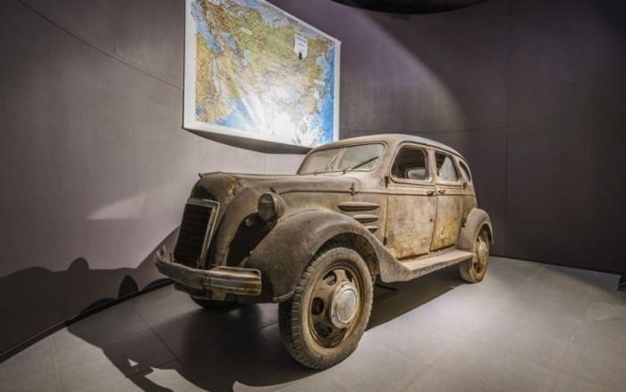 Редчайший Toyoda Model AA был найден в России