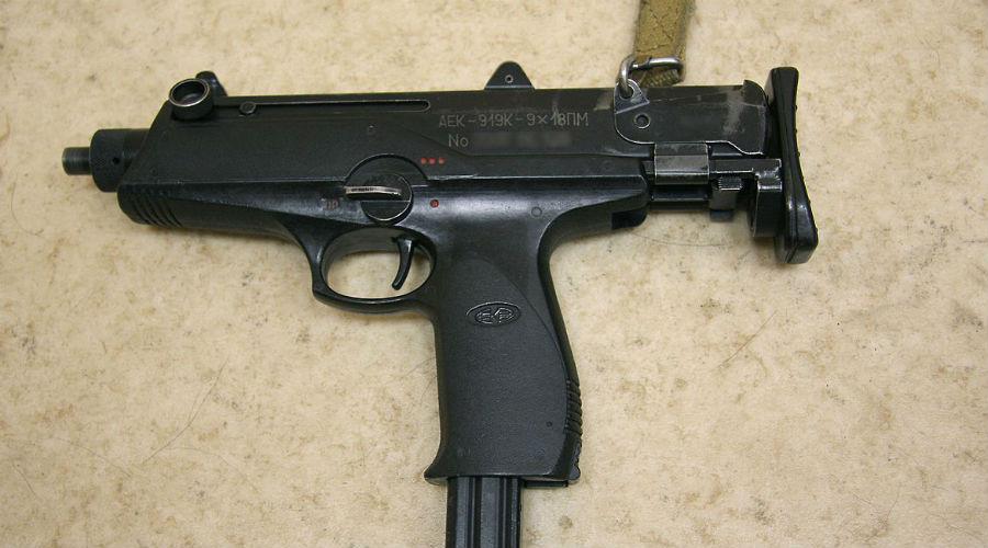 Типы оружия, стоящие на вооружении полиции России