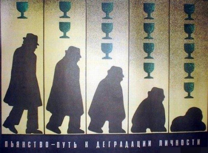 О борьбе с алкоголизмом в СССР