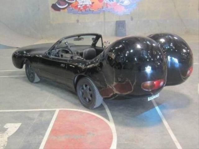 Удивительный и странный тюнинг автомобилей