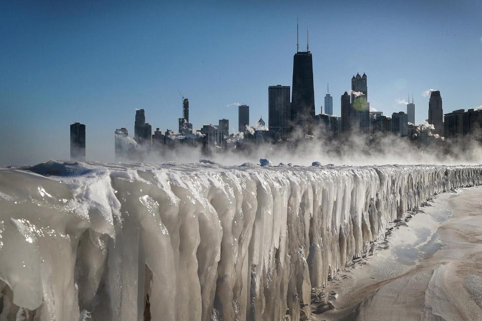 Замерзший мир этой зимой на снимках